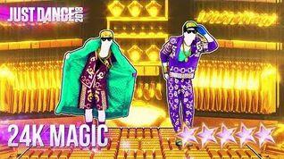 Just Dance 2018 24K Magic - 5 stars