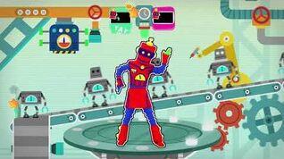 4k Funky Robot by Dancing Bros