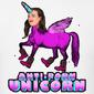 Anti-porn-unicorn design
