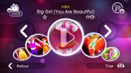 Biggirl jd2 menu