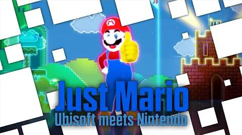 Just Mario - Ubisoft Meets Nintendo Just Dance 3 (Wii Only)