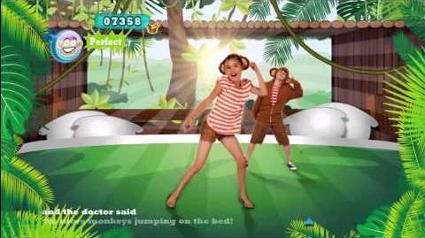Just Dance Kids 2 Five Little Monkeys