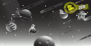 Postcard spacegirlkids004