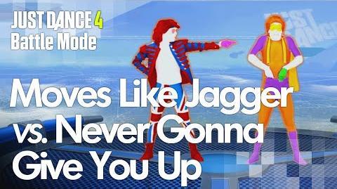 Moves Like Jagger vs