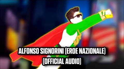 Alfonso Signorini (Eroe Nazionale) (Official Audio) - Just Dance Music