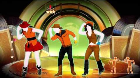 Jailhouse Rock (Line Dance) - Just Dance 4