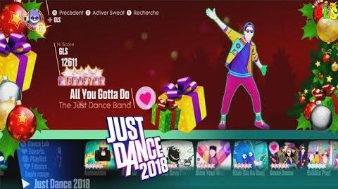 Just Dance 2018- Christmas Theme - Songlist Menu