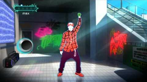 "(ジャストダンス2) JUST DANCE WII 2 DA PUMP ""WE CANT STOP THE MUSIC"""