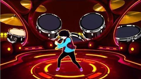 Air Drummer Just Dance Machine Unreleased
