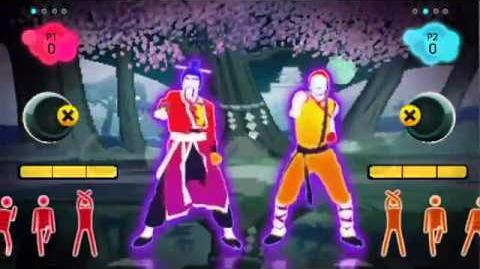 Just Dance 2 - Kung Fu Fighting