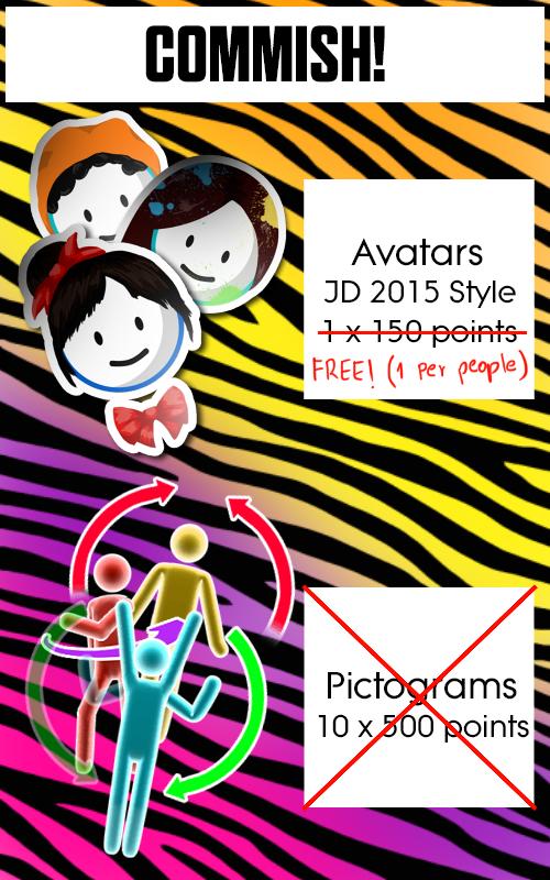 User blog:JaNiToGlOy/FREE AVATARS | Just Dance Wiki | FANDOM