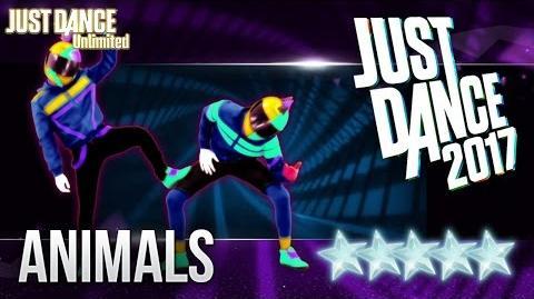 Just Dance 2017 Animals by Martin Garrix - 5 stars