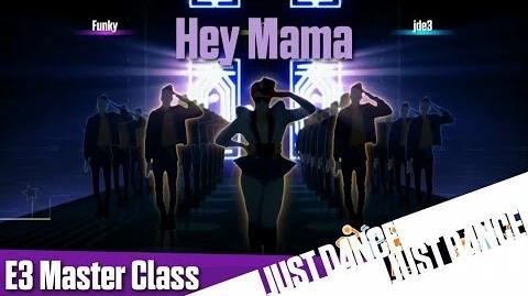 Just Dance 2016 - Hey Mama E3 Master Class