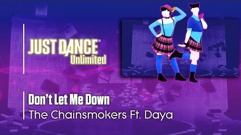 Don't Let Me Down - Just Dance 2017