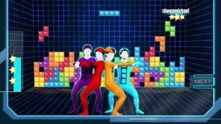 Just Dance 2017 Tetris 5 stars superstar wii u