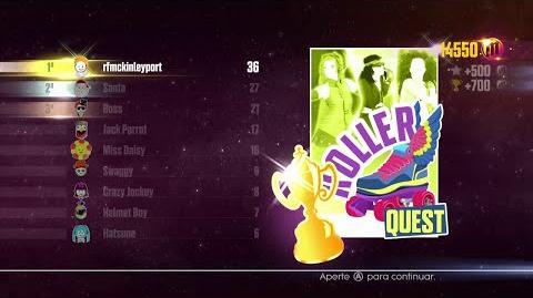 Just Dance 2016 - Dance Quest (Roller Quest - Dance Master) - 6 17