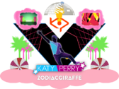 Zodi katy sticker