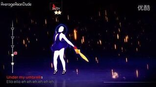 跳舞Just Dance 4- Umbrella (With An Umbrella)