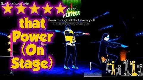 Just Dance 2014 - thatPOWER (On Stage) - Alternative Mode Choreography - 5* Stars