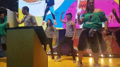 Rockabye by Clean Bandit ft Anna Marie & Sean Paul Just Dance 2018 at Japan Expo