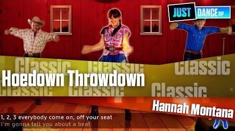 Hoedown Throwdown - Hannah Montana I Just Dance Disney Party