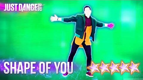 Just Dance 2018 Shape Of You - 5 stars