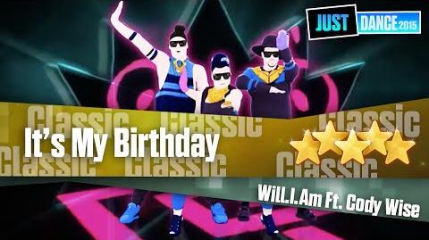 It's My Birthday - Will.i.am ft