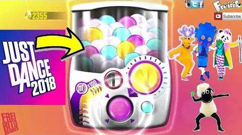 JUST DANCE 2018 GIFT MACHINE GASHAPON UNLOCKS PT1