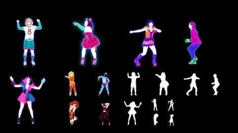 Just Dance 4 Masked Extraction Disturbia Puppet Master