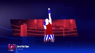 Just Dance 2018 (Unlimited) Eye Of The Tiger - 5 Stars