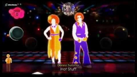 Just Dance 2 Hot Stuff, Donna Summer (Duo) 5*