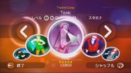Toxic jdwii menu