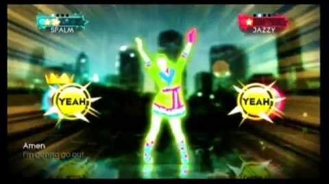 It's Raining Men - Just Dance 3 (Wii graphics)