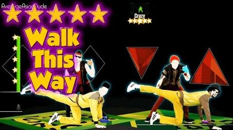 Just Dance 2015 - Walk This Way - 5* Stars