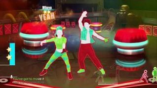 Just Dance 2016 Tribal Dance 5 stars ps move ps4