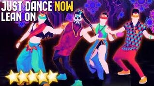 Just Dance Now - Lean On 4 players 5 stars