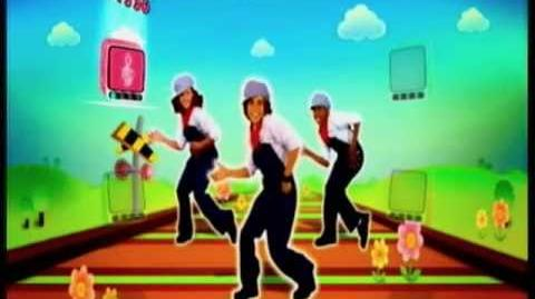 Just Dance Kids I've Been Working on the Railroad