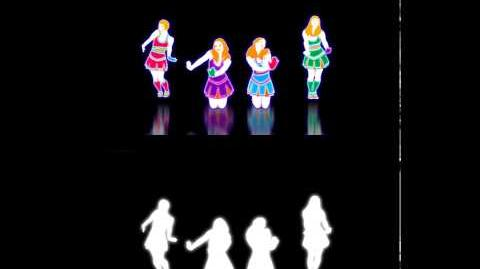 EXTRACT! Baby One More Time - The Girly Team Just Dance 3