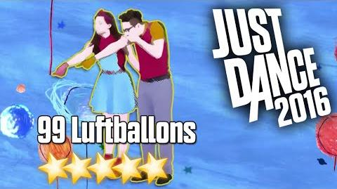 Just Dance 2016 - 99 Luftballons - 5 stars