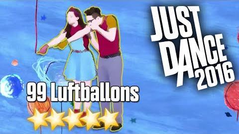 Just Dance 2016 - 99 Luftballons - 5 stars