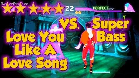 Just Dance 4 - Love You Like A Love Song VS