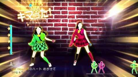 Just Dance Wii U Ikuze! Kaitō Shōjo 4 Stars (60fps)