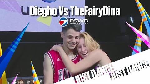 ESWC Just Dance World Cup Diegho Vs TheFairyDina Final