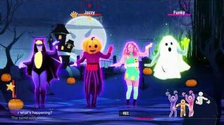 4k Ghost In The Keys by Halloween Thrills Unlimited Just Dance 2017 RD PH