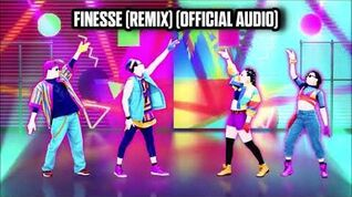 Finesse (Remix) (Official Audio) - Just Dance Music