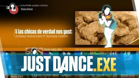 Just Dance.exe Las chicas de verdad nos gusta el pollo frito (Mashup) Gameplay Superstar