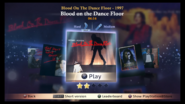 Bloodonthedancefloor mj ps3 menu