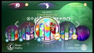 Just Dance 3 - No Limit - 2 Unlimted - mashup
