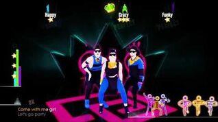 Just Dance 2015 It's My Birthday 3 players 5 stars xbox 360