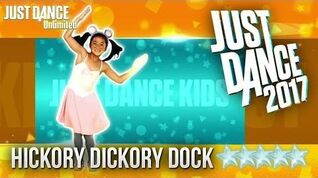 Just Dance 2017 Hickory Dickory Dock - 5 stars
